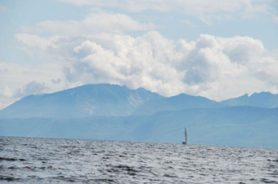 Arran from the Clyde