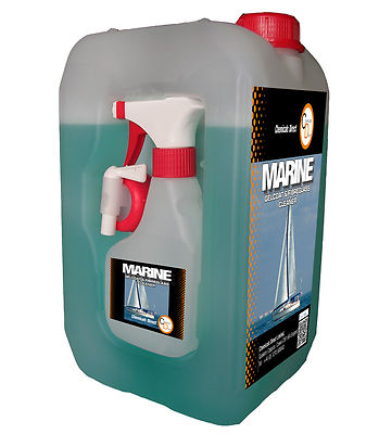 Marine GRP and gell coat cleaner