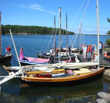 Romilly mooring in Finland